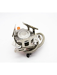 coupe-vent alliage fournaise extérieure fendue cuisinière à gaz allumage électronique d'aluminium brûleur plat réservoir de gaz Ustensiles
