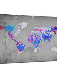 cartes du monde star®abstract visuels idées de décoration toile tendue impression prêt à accrocher