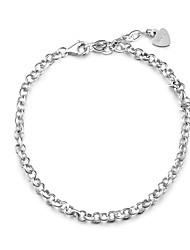 Summer Jewelry Korean Style Charms  Bracelets 925 Sterling Silver Bracelets for Women Fine jewelry