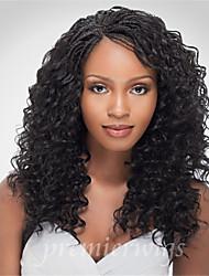 Venta onda profunda caliente pelucas bajos de seda pelucas llenas del cordón del cabello humano pelucas brasileñas virginales del pelo