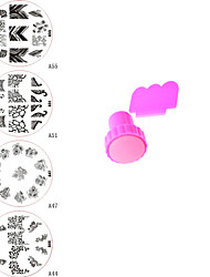 Dedo - Abstracto - Joyas de Uñas - Metal - 5 - 7*7*2.5CM - ( cm )