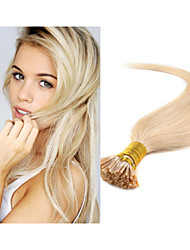 "18""-30"" Stick Tip I Tip Hair Extensions Straight Natural Hair 1g/s 100g In stock Keratin Hair Extension"