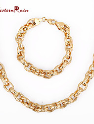 WesternRain 2015 High Quality Noble Gold Fashion Women Accessories Simple China Wholesale Unique Jewelry