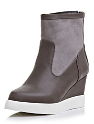 Women's Shoes Wedge Heel Round Toe/Closed Toe Boots