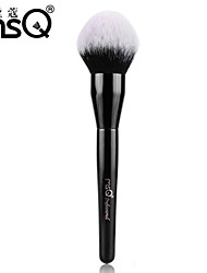 MSQ® 1pcs Powder Brush MAC Makeup Style Eco-friendly Black Powder Brush Blush Brush Cosmetic Brush