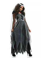 Costumi - Costumi da scheletro/Fantasma Halloween - Abito/Cappelli