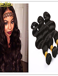 3PCS/Lot Brazilian Hair Body Waves Extension Weft Extensions 3 Bundles 8A Unprocessed Virgin Hair Free Shipping