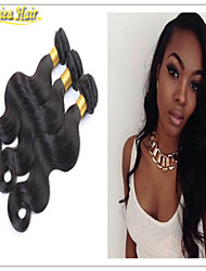 3PCS/Lot Body Wave Indian Human Hair Weft Extension Cheap Human Hair Color 1b# Hot Beauty Hair Product