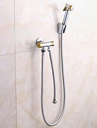 Douchette inclue - Robinet de douche/Robinet de baignoire - Contemporain - en Laiton