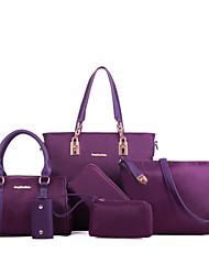 Schoudertas / Draagtas / Kaart/pasjeshouder / Muntenportemonnee / Make-uptasje / Mobile Phone Bag - Roze / Paars / Blauw / Zwart -