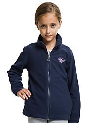 JJLKIDS Girls Candy Color Polar Fleece Jacket Kids Winter Coat