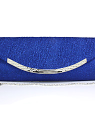 Women 's Other Leather Type Saddle Clutch/Evening Bag - Blue/Gold/Red/Silver/Black