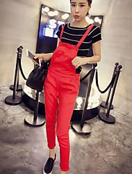Pantaloni Da donna Skinny Casual Poliestere Anelastico