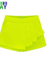 ZAY Women's Casual Solid Ruffle Summer Hot Shorts Pants