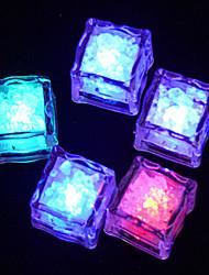 LED Discolour Ice-cube Shaped Night Light