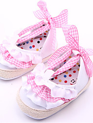 Baby Shoes Casual Fabric Flats Yellow/Pink