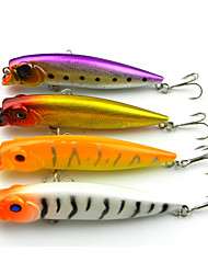 4 PCS Hard Bait Popper 95MM 11.7G Sinking Fishing Lure