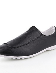 Men's Shoes Casual Loafers Black/White/Orange
