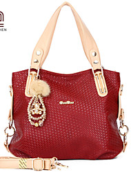 Handcee® Hot Selling Woman PU Good Quality Simple Tote Bag