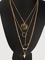Nuoqi Fashional Popular Multilayer Multielement Necklace