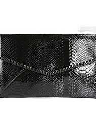 Women PU Event/Party Clutch / Evening Bag Silver / Black
