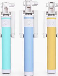 il bastone selfie makalong colorato per il telefono connettore da 3,5