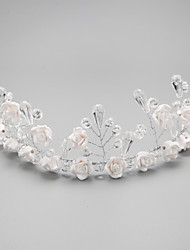 Women/Flower Girl Crystal/Alloy Headbands With Crystal Wedding/Party Headpiece