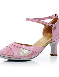 Women's Sparkling Glitter & PU Modern/Latin Dance Shoes