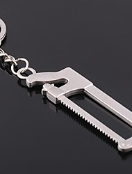 Metal Keychain Key Ring Saw