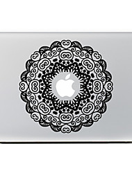 Circular Flower 4 Decorative Skin Sticker for MacBook Air/Pro/Pro with Retina Display