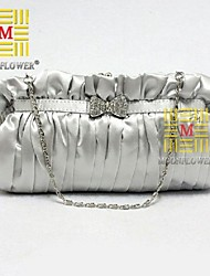 Women 's Polyester Fold over Clutch Tote/Evening Bag - Multi-color