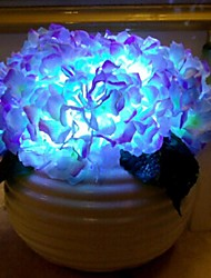 Cherish Rose ® Originality Hydrangea Flower Led Home Decor Desk Lamp Air Cleaner Release Negative Inion Hotel Bedroom