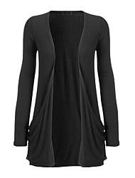 Kanier Women'S Wild Fashion Women Knitted Long-Sleeved Jacket Pockets