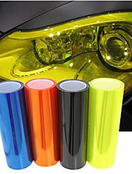 lorcoo ™ 100 * 30см автомобиль свет мембраны полупрозрачный скраб задний свет фильм (бесплатный подарок край ракеля + нож)