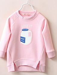 Kid's Bottle Pattern Casual Sweater