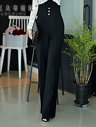 Pink Doll®Women's Casual OL High Waist Straight Pants