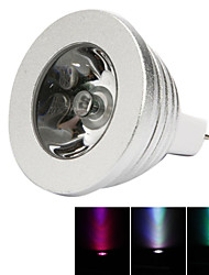 HRY® 3W MR16 RGB LED Bulb Lamp light 16 Color changing + IR Remote(85-265V)