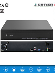 Cotier®25CH 1.5U 2HDD Port /960P/HD/ P2P Cloud/NVR N25/1.5U-2H