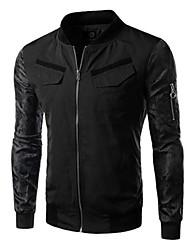 Men's Long Sleeve Jacket , Polyester Sport