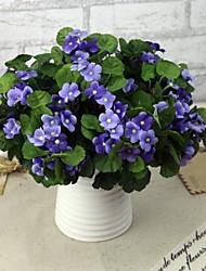 """7.9 """"h haute qualité de décoration fleurs artificielles 2 pièce"""