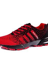 Zapatos Running Tul Negro / Morado / Rojo Mujer