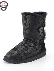 MG Snow Boots for Girls Classic Winter Shoes New Fashion Women Sheepskin