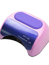 48W Nail Polish Gel Art Tools Professional CCFL LED UV Lamp Light 110-240V Nail Dryer Automatic Induction Timer Setting