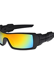 Screw Cycling Running  UV400 Wrap Sports Glasses