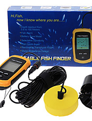 100m Portable Sonar Sensor Fish Finder
