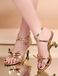 Gold Others 6-9cm Sandals (PU)