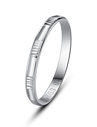 Fine Jewelry 925 Sterling Silver Rings for Women Cute/Party/Work/Casual Sterling Silver Band Ring