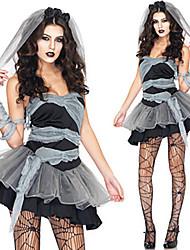 Costumes - Esprit - Féminin - Halloween/Carnaval - Robe/Coiffure