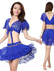 2015 New Design Hot High Quality Belly Dance Costumes Hip Scarf Belt WY9558 3PCS/SET