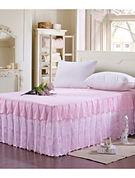 Yuxin®Printing Korean Princess Lace Bed Skirt Bedspread Bed Mattress Dust Protection Cover  Bedding Set